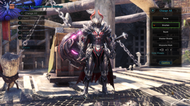 GX Gore Magala Male Armor - Drachen Layered - FOR MALE and FEMALE