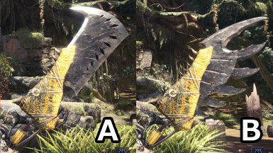 Jagras Hacker III (Great Sword blade) Fix