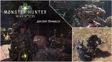 Ancient Monarch MHW Weapon