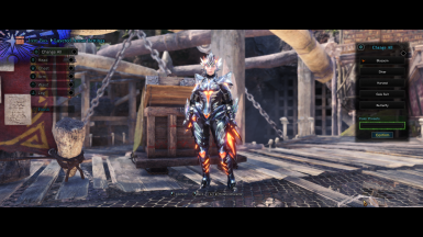 Female Valfalk X Armor - Blossom Layered 2.0