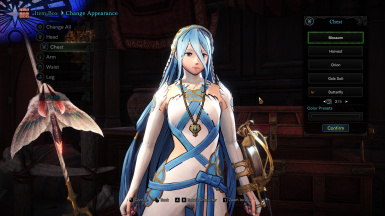 Azura - Fire Emblem - Layered Armor
