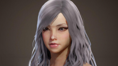 Asymmetrical Wavy Long Hairstyle (Post-Iceborne)