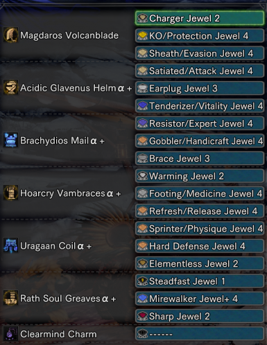 Threee lvl4 Slots on All Armor/Weapons