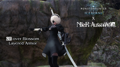 Iceborne Compatible - 2B (and 2P) from Nier Automata (Female)