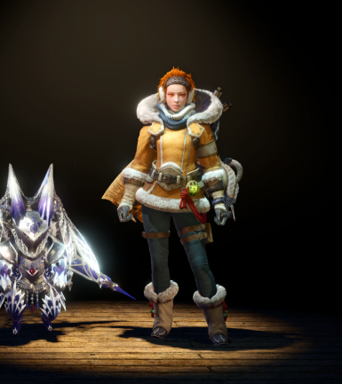 Handler's winter outfit for Player