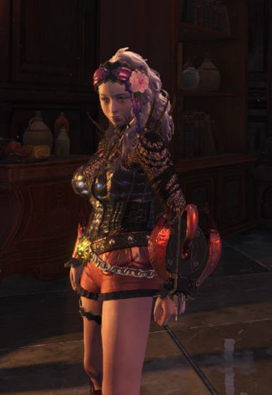 More sexy character body model at Monster Hunter: World