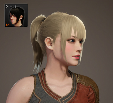 Ponytail with Bangs (Iceborne Friendly)