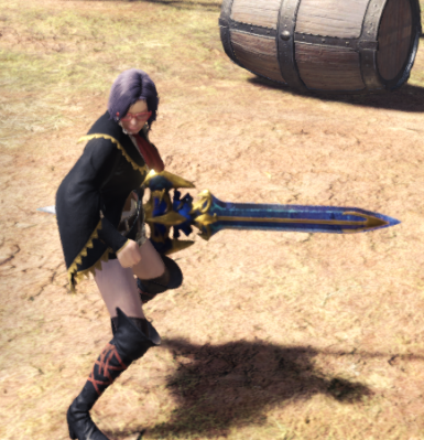 LunaticRose to Black Lightning Eagle Sword