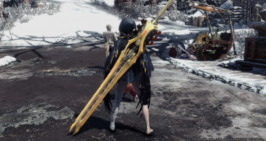 CODE VEIN Skull King long sword