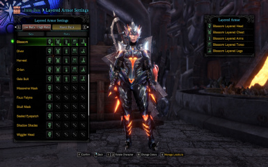Iceborne Ready Old World Armors Repository Female Armors At