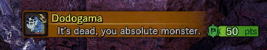 A mod that calls you out for killing monsters.