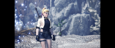 Casual Shara Ishvalda Armor At Monster Hunter World Mods And Community The fight starts out with the monster covered in a rock armor. casual shara ishvalda armor at monster