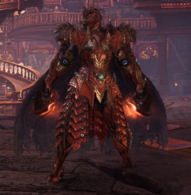 Safi Armor Glow Removal At Monster Hunter World Mods And Community