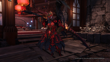 Gothic Safi Jiiva Armor At Monster Hunter World Mods And Community