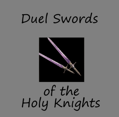 Duel Swords of the Holy Knights