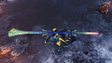 Different Brachydios Insect Glaive