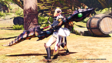 HD Fatalis Insect Glaives Ruiner and Onyx