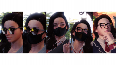 Stylish Frames and Mask