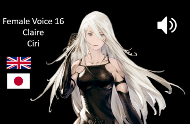 A2 from NieR Automata Voice Mod