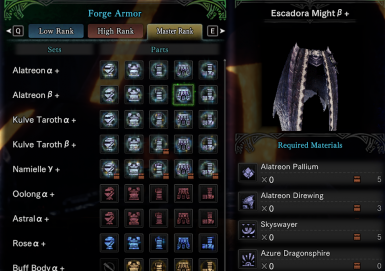 Free Armor And Layered Armor