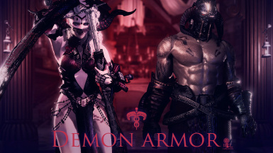 Demon armor(Women's and Men's)