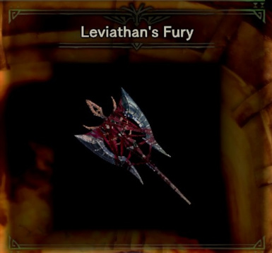 Pandemonium's Root (or Twin Battleaxe) replaces Leviathan's Fury