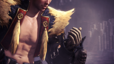 Rajang Armor - Shirtless Edition (male)