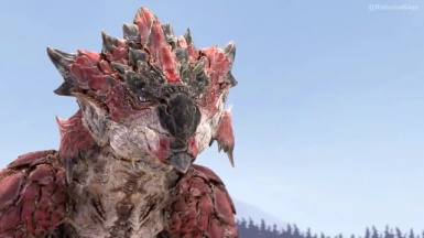 Rathalos says v1 Audio replacment mod