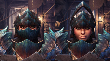 Dodogama Helm - Open Visor for Female Hunter