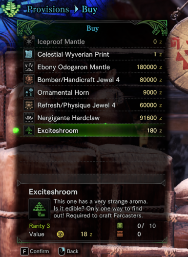 MHW Shop List Editor