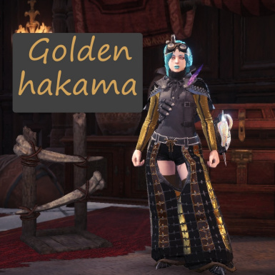 Golden Hakama