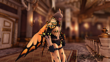 Butterfly Armor - Shirtless Edition (male)