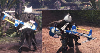 Charge Arms from Phantasy Star Online (HBG)