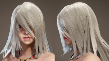 YoRHa Type A No 2 Hairstyle (Post-Iceborne)