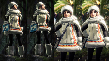 Handler's Custom Winter Spirit Coat