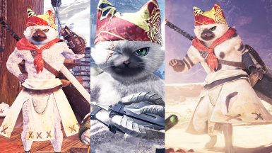 Meowscular Chef Player Pack (with bonus Furry Male Buff Body version)