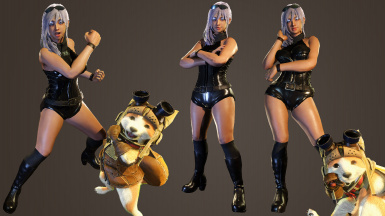 First five images were from before I fixed the shorts/leg weights.