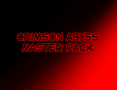 Crimson Abyss Styx MASTER PACK