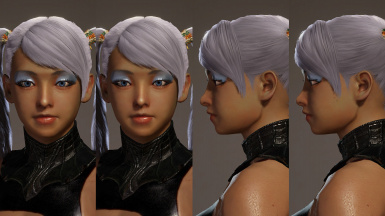 Subtle Female Face Model Edit