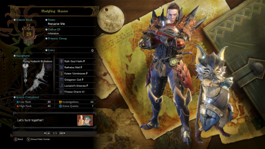 Unmodded Post-Xeno'jiiva Save File at Monster Hunter: World - Mods