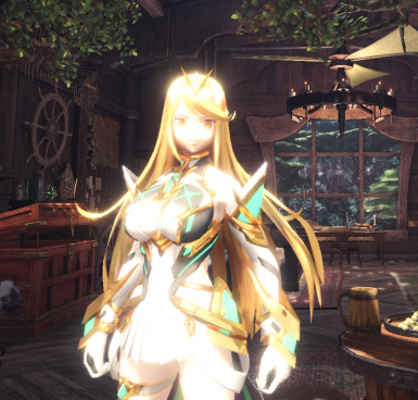 Mythra - Little Washed out in Light