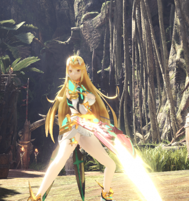 Mythra - Blade Front View