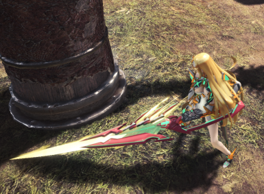 Mythra Blade Top Down