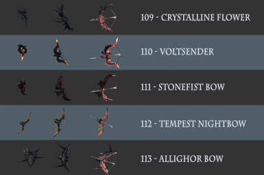 Asterisk Bow Pack Pt 3 - A Bow Renaissance (37 New Bows)