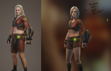 The Witcher III Appearances  -  Geralt and Ciri