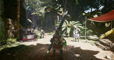 MHW realistic reshade