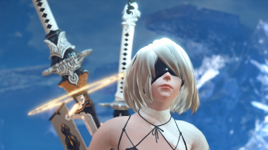 2B dlc outfit-remastered