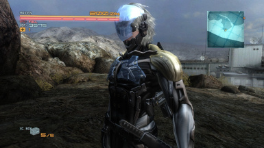 Blue Glass For MGS4 Raiden