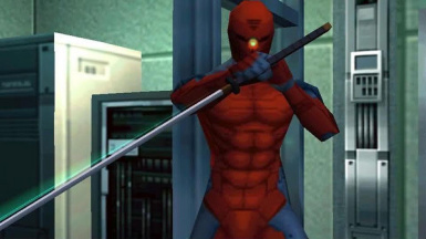 Play Kai Arts Gray Fox (MGS1 Alternate Costume)