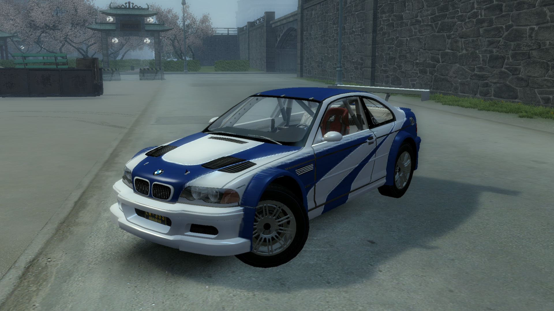 BMW M3 GTR E46 - NFS Most Wanted 2005 Version at Mafia 2 ...